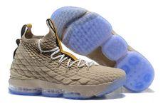 c11d9e2768b5d High Quality Nike LeBron 15 Pride of Ohio Khaki Men s Sneakers Basketball  Shoes