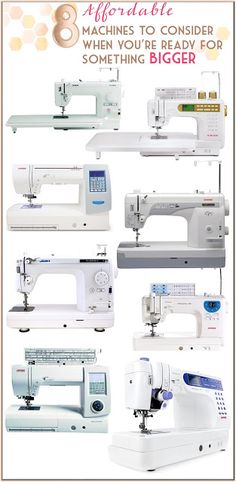 8 affordable large quilting and sewing machines to consider when you're ready to upgrade