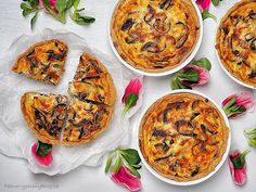 Quiche – cibulovo-sýrový koláč Quiche, Curry, Pizza, Cooking Recipes, Eat, Ethnic Recipes, Food, Curries, Chef Recipes