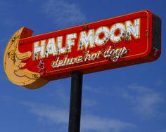 Half Moon Drive In, Lockport, Manitoba. Dine in 50s retro style.