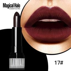 Long-Lasting Frosted Pigment Lipstick