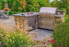 """Awesome """"built in grill patio"""" information is available on our internet site. Take a look and you wont be sorry you did. Outdoor Kitchen Countertops, Concrete Countertops, Kitchen Island, Kitchen Contractors, Outside Grill, Outdoor Kitchen Design, Outdoor Kitchens, Grill Area, Patio Grill"""