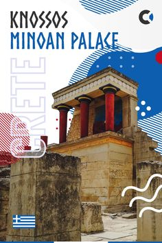 Guide & map of Minoan Royal Knossos Palace - archeological site near Heraklion, Crete. Minotaur labyrinth, Daedalus, Icarus & other legends. #Crete #Greece #Europe Travel Through Europe, Europe Travel Guide, Travel Guides, Travel Destinations, Places In Europe, Best Places To Travel, Places To Go, Crete Greece, Mykonos Greece