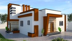 House Front Design, Facade, Mansions, House Styles, Home Decor, Fitness Abs, Decoration Home, Manor Houses, Room Decor