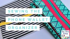I just wanted to let everyone know that we have published the Easy Phone Wallet Organizer video tutorial on our YouTube channel. Please have a look!
