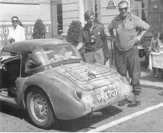 MGA Twin cam .. PRX 707 records show it competing in the 1959 Sebring race , and Liege-Rome-Liege rally , car also raced in Sth.Africa , but is now back in G.B.