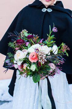 Winter bridal bouquet