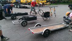 Cool bike trailers