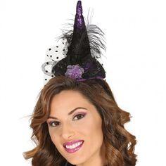 Mini Chapeau Sorcière violet #chapeauxdéguisements #accessoiresdéguisements #accessoiresphotocall