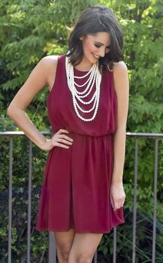 Whether you're looking for the perfect gameday dress to root for Alabama or your favorite team, the perfect rush dress or even Sunday brunch, the classic cut of this dress will keep you looking effortlessly stylish. The unique ribbon back detail makes for a chic surprise and the cinched waist and flirty hem make for the perfect occasion dress. Dress up with heels and statement jewelry or dress down with cute ankle booties.