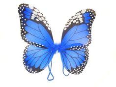 Hannah butterfly costume? Amazon.com: WeGlow International Monarch Butterfly Wings, Blue: Toys & Games