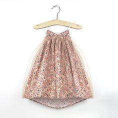 Fairy Dance Tutu Dress (Sunset blossom)