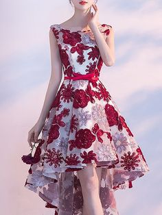 Buy Vintage Dresses Midi Dresses For Women from Fantasyou at Stylewe. Online Shopping Stylewe Sundress Vintage Dresses Party & Evening High Low Crew Neck Backless Vintage Sleeveless Dresses, The Best Party & Evening Midi Dresses. Elegant Dresses, Pretty Dresses, Vintage Dresses, Beautiful Dresses, Stylish Dresses, Designer Party Dresses, Prom Party Dresses, Homecoming Dresses, Dress Party