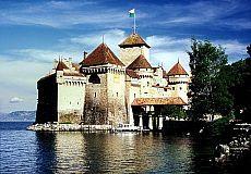 Lake Geneva, Chateau Chillon, Switzerland