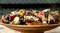 Ottolenghi - Recipes - Grilled peaches, apricots and figs with scented yoghurt