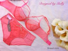 54764479dc Want to be pretty in pink for  ValentinesDay   lingerie  braazi   cantfinditdesignit