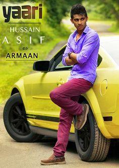 Hussain as Armaan in Yaari! Hussain Asif, Adam Saleh, Youtubers, Hero, Celebrities, Funny, Inspiration, Celebs, Biblical Inspiration