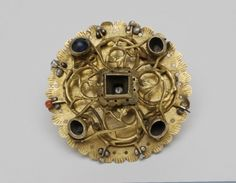 Metalwork Collection Date:14th century - 15th century Place of production:Hungary ,precious stones,silver,pearl and coral
