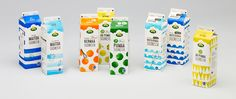 Milk from Finland - Packaging for Arla on Behance