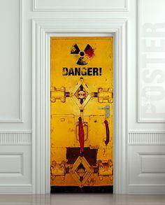 Danger STICKER - Wallnit on Etsy
