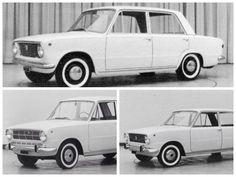 Los tres primigenios prototipos del 124