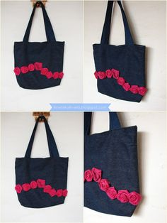 Diy Tutorial Valentino inspired rose bag jak przerobić torebkę ? diy