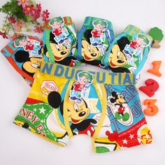 Boys boxer briefs - mickey mouse, minions, hello kitty $1.85 from Aliexpress
