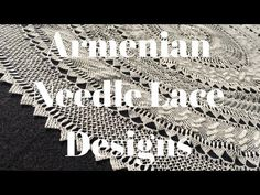How to do Needle Lace Designs - YouTube