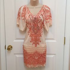 I just discovered this while shopping on Poshmark: Juniors Summer Mini Fitted Dress Rhinestone. Check it out!  Size: 4