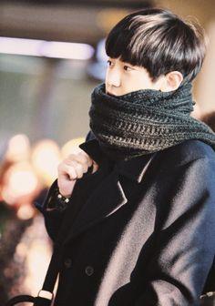 EXO | Chanyeol | Dark & Colorfull | Winter | Brown