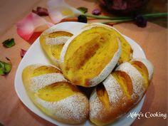 蒸熟的南瓜泥含水量高,不用加半滴水,做出充滿奶油香味的軟法麵包 ଘ(੭ˊ꒳ˋ)੭✧