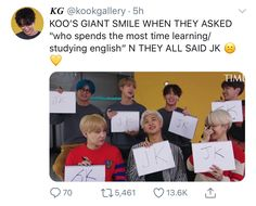 My baby is learning and should be praised for it. Bts Facts, Bts Lyric, Bts Tweet, About Bts, I Love Bts, Bts Pictures, Bts Boys, Kpop Groups, Bts Jungkook