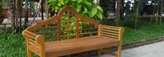 Classic Wood Benches