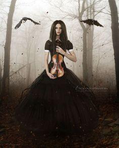Dark Melodies by EnchantedWhispers.deviantart.com on @deviantART