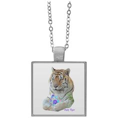 Hoping you will love this new Andy Tiger Paw Pr... Check it out! http://catrescue.myshopify.com/products/cambu-odd-couple-square-necklace-1?utm_campaign=social_autopilot&utm_source=pin&utm_medium=pin