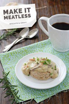 Vegetarian Biscuits & Gravy