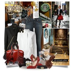 """♥Coffee Shop♥"" by designsbytraci on Polyvore"