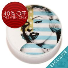 OFFER: Save 40% until next Saturday on this sexy Marilyn Monroe plug. Now from only £3.59! Available at JustEros.com #plugs #plug #fleshplug #earplug #tunnel #tunnels #fleshtunnel #eartunnel #bodyjewelry #bodyjewellery #plugsnotdrugs #pluglife #pluglove #plugsofinstagram #bodymod #bodymodification #stretches #stretchedears #earstretches #earstretching #piercing #fashion #justeros #girlswithplugs
