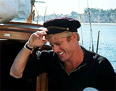 """And kind, caring, and smoldering Hubbell (Robert Redford). 