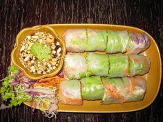 Vietnamese #rawfood @springrolls. #overheerlijk