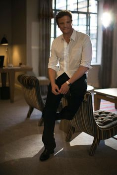 Colin Firth will always be Mr. Darcy to me!!