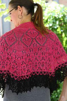Ravelry: Girdle of Melian Shawl pattern by Raven Knits Design