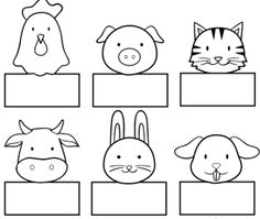 Paper finger puppets patterns