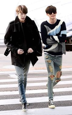 Kim Woo Bin and Lee Jong Suk stylin'. #ManCrushMonday