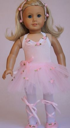 Ballet Costume fits the American Girl and 18 by CjsLittleBoutique