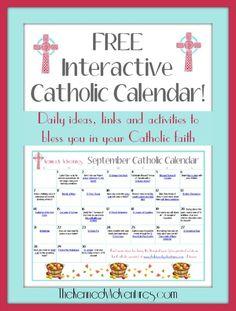 Catholic Family Calendar September