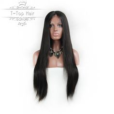 7A Full Lace Human Hair Wigs for Black Women Glueless Full Lace Wigs Brazilian Virgin Hair Straight Lace Front Human Hair Wigs