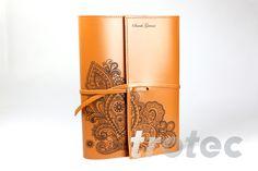 Engrave and cut leather quickly and easily with Trotec laser cutters: ✔Natural leather ✔Suede ✔Nubuck ✔Alcantara. Refine leather gifts, bracelets and clothing with delicate laser engravings. Trotec Laser, Laser Cut Leather, Leather Gifts, Natural Leather, Laser Engraving, Laser Cutting, Delicate, Nature, Leather Holster