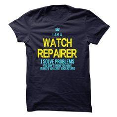I am a Watch Repairer - #shirt women #tee trinken. BEST BUY => https://www.sunfrog.com/LifeStyle/I-am-a-Watch-Repairer-18018983-Guys.html?68278