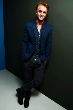 Tom Felton- number one (tied with Matthew Lewis) on my beautiful guys list.